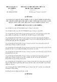 Quyết định số 2988/QĐ-BTNMT