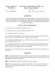 Quyết định số 3195/QĐ-UBND