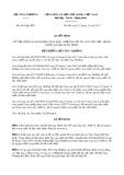 Quyết định số 4635/QĐ-BCT