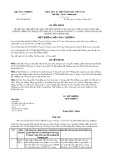 Quyết định số 4267/QĐ-BCT năm 2017