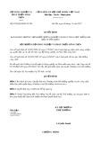 Quyết định số 4576/QĐ-BNN-TCCB