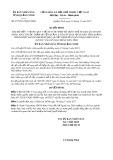 Quyết định số 4575/2017/QĐ-UBND