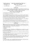 Quyết định số 4060/QĐ-UBND