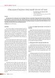 Tổng quan về ngành công nghiệp dầu khí Việt Nam