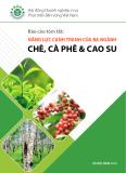 Báo cáo tóm tắt: Năng lực cạnh tranh của ba ngành chè, cà phê và cao su