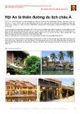 Hội An là thiên đường du lịch châu Á