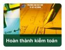 Bài giảng Kiểm toán 1: Chương 6 - Phạm Minh Vương