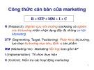 Bài giảng Quản trị marketing: Chuyên đề 2 - Cao Minh Toàn