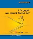 Ebook 3 bí quyết của người thành đạt: Phần 2 - NXB Văn hóa văn nghệ
