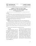 Nghiên cứu tiềm năng phát triển du lịch văn hóa tâm linh tỉnh Đồng Tháp