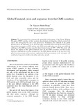 Global financial crisis and responses from the GMS countries