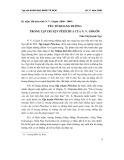 Yếu tố hoang đường trong tập truyền Pêtécbua của N.V GôGôn