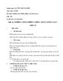 Giáo án Giải tích lớp 12 tiết 36