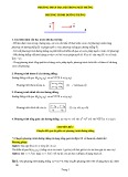Phương pháp tọa độ trong mặt phẳng phương trình đường thẳng