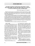 Ứng dụng giải pháp cấp nước bằng trạm bơm lấy nước trực tiếp từ biển cho khu nuôi trồng thủy sản xã Hoài Mỹ và Hoài Hải, huyện Hoài Nhơn, tỉnh Bình Định