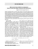 Hiện tượng phá vỡ đối xứng nghịch đảo trong chuyển pha nhiệt ở hệ boson hai thành phần