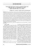 Tổng hợp, phân tích và đề xuất phương pháp giải phù hợp cho các thành phần vận tốc trong mô hình thủy lực 2 chiều