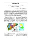 Phân tích các yếu tố thủy động lực biển khu vực đảo Phú Quý