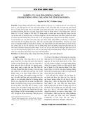 Nghiên cứu giải pháp phòng chống lũ cho hệ thống sông Chu, sông Mã tỉnh Thanh Hóa