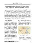 Đánh giá rủi ro kinh tế do ngập lụt, ứng dụng cho dự án chống ngập khu vực thành phố Hồ Chí Minh giai đoạn 1
