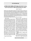 Nghiên cứu thí nghiệm cố kết thấm và sức kháng cắt của đất yếu phân bố ở đồng bằng ven biển Quảng Nam – Đà Nẵng phục vụ quy hoạch và thiết kế công trình giao thông