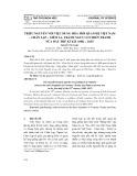 Triều nguyễn với việc dung hòa mối quan hệ Việt Nam – Chân Lạp – Xiêm La, tránh nguy cơ chiến tranh nửa đầu thế kỉ XIX (1802 – 1847)