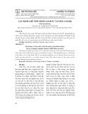 Vận mệnh chữ nôm trong lịch sử văn hóa Nam Bộ