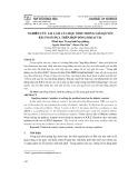 Nghiên cứu sai lầm của học sinh trong giải quyết bài toán dựa trên hợp đồng Didactic