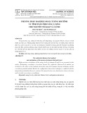 Phương pháp Hartree - Fock tương đối tính và tính toán phổ năng lượng cho nguyên tố kali và canxi