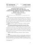 Thành phần phiêu sinh thực vật và mối quan hệ với chất lượng môi trường nước ở trung tâm nông nghiệp mùa xuân, huyện Phụng Hiệp, tỉnh Hậu Giang, Việt Nam