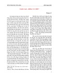 Nam Cao - sống và viết