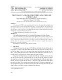 Thực trạng và giải pháp phát triển nông thôn mới ở tỉnh Cà Mau