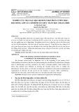 Nghiên cứu việc dạy học hệ đếm thập phân ở tiểu học: Một đóng góp của mô hình tổ chức toán học tham chiếu