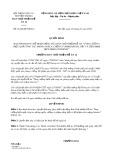 Quyết định số 01/QĐ-BCNĐA12