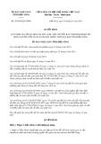 Quyết định số 03/2018/QĐ-UBND tỉnh Đắk Nông
