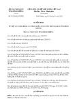 Quyết định số 01/2018/QĐ-UBND tỉnh Bình Dương