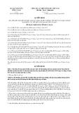 Quyết định số 01/2018/QĐ-UBND tỉnh Cà Mau