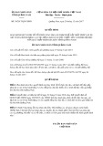 Quyết định số 30/2017/QĐ-UBND tỉnh Quảng Ninh