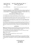 Quyết định số 01/2018/QĐ-UBND tỉnh Bà Rịa Vũng Tàu