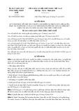 Quyết định số 07/2018/QĐ-UBND tỉnh Thừa Thiên Huế