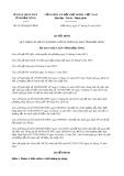 Quyết định số 01/2018/QĐ-UBND tỉnh Đắk Nông
