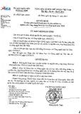 Quyết định số 1621/QD - UBND