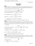 Bài tập cơ lưu chất - Trường ĐH Bách khoa HCM