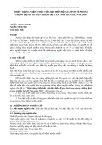 Thực trạng nhận thức của đại diện hộ gia đình về phòng chống bệnh truyền nhiễm tại 3 xã tỉnh Hà Nam, năm 2016