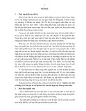 Tóm tắt Luận án Tiến sĩ: Nghiên cứu một số thông số về cấu tạo và chế độ làm việc của liên hợp máy băm ép nước dứa