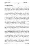 Đề tài nghiên cứu: Đánh giá công tác thẩm định dự án đầu tư tại ngân hàng nông nghiệp và phát triển nông thôn – Agribank chi nhánh huyện Vân Đồn – tỉnh Quảng Ninh