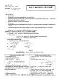 Giáo án môn Toán lớp 11: Hàm số liên tục - Bài 3