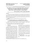 Xác định các bài tập chuyên môn trong giảng dạy môn chạy cự li trung bình cho nam sinh viên khoa GDTC trường Đại học Sư Phạm TPHCM