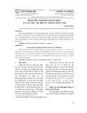 Phạm trù nội động /ngoại động và cấu trúc đề thuyết trong Tiếng Việt