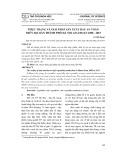 Thực trạng và giải pháp sản xuất rau an toàn trên địa bàn Thành phố Hà Nội giai đoạn 2008 - 2015